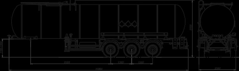 Технические характеристики Битумовоз sf3b30