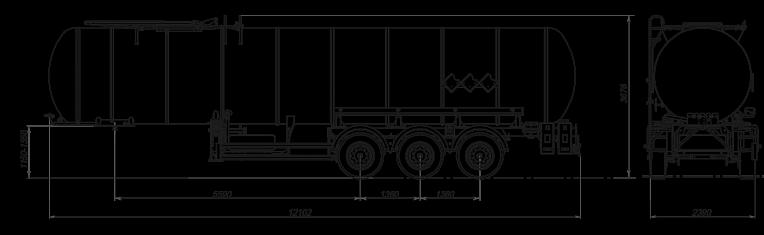 Технические характеристики Битумовоз sf3b32